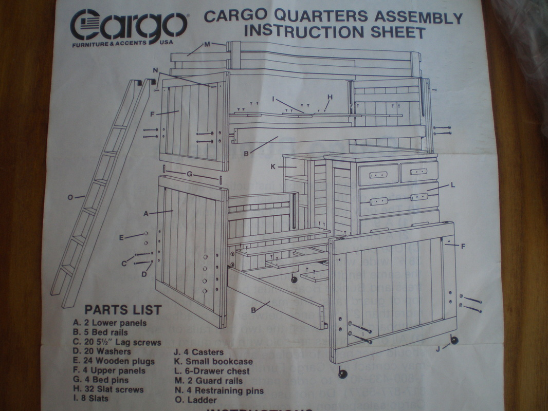Cargo Furniture garage sale